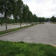 Visitor Center Parking Lot