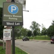 Missouri History Museum Parking West